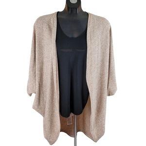 ICHI Sweater Pink Open Cardigan One Size
